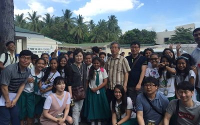 CvSU Naic welcomes visitors from Jeollabuk-do, South Korea