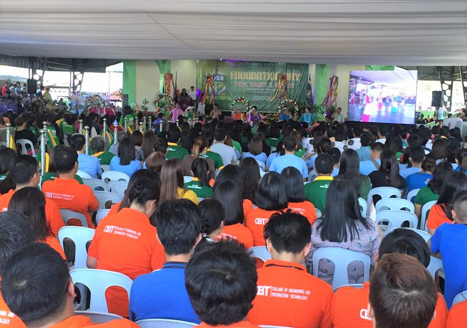 CvSU Naic joins CvSU Don Severino delas Alas Campus as the latter celebrates its 112th Foundation Day