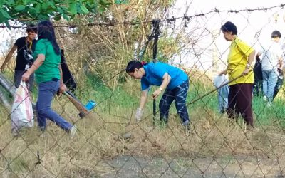 CvSU Naic conducted a General Clean-up Day