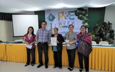 Congratulations, Prof. Sherrlyn Rasdas, winner of Best Extension Paper for this year's CvSU Research and Extension Week